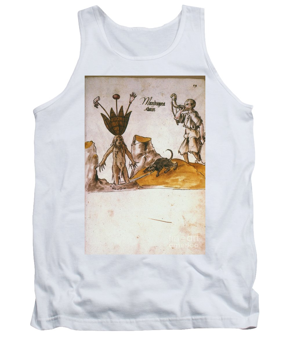 1500 Tank Top featuring the photograph Mandrake, C1500 by Granger