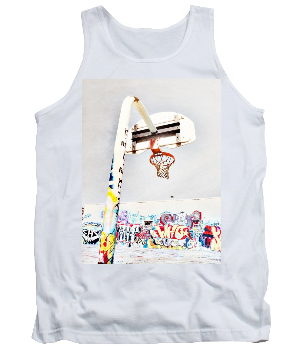 Basketball Tank Top featuring the photograph March 23 2010 by Tara Turner
