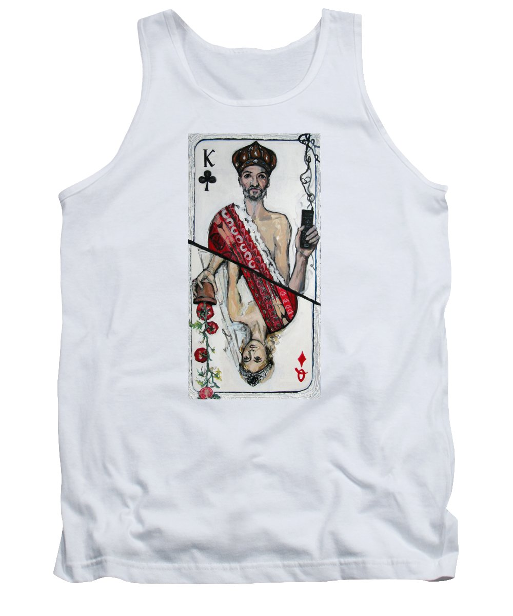 Marriage Tank Top featuring the painting Marriage by Mima Stajkovic