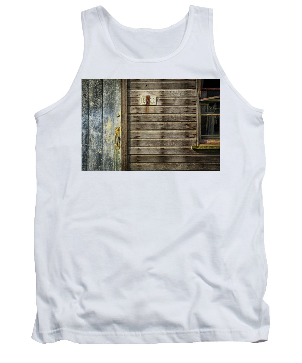 This Historic Mill Is Located On Reid Road And West Of The Western Maryland Rail Road. Tank Top featuring the photograph Maryland 19723 by Pat Goodwin
