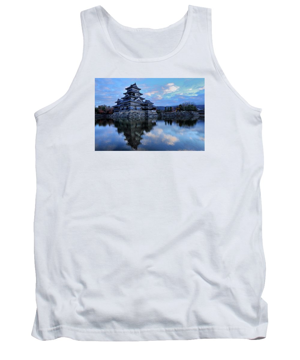 Japan Tank Top featuring the photograph Matsumoto Castle 1182 by Alex Sharp