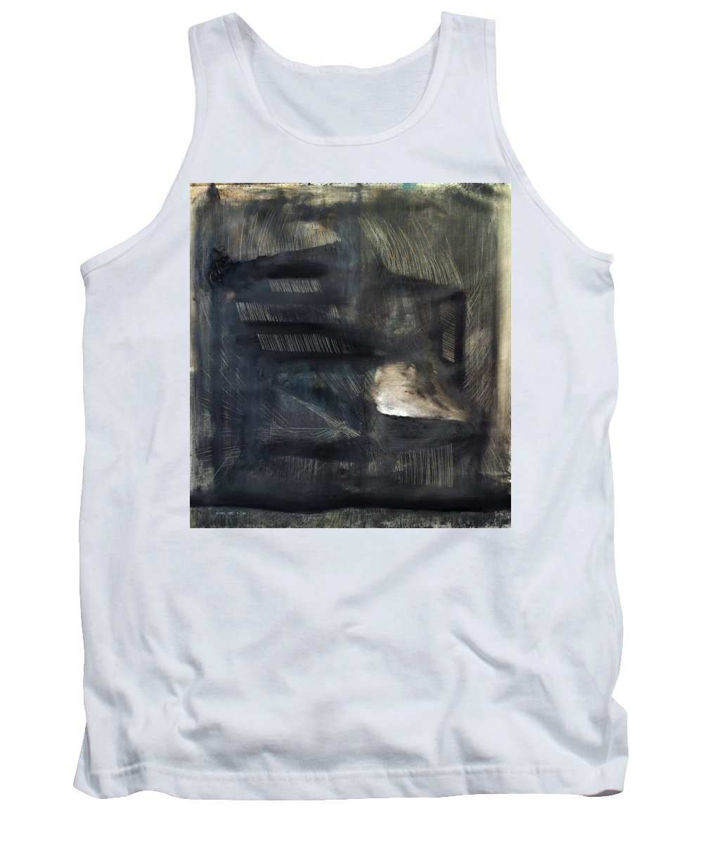 Abstract Art Tank Top featuring the painting Mcculloch by Antonio Ortiz