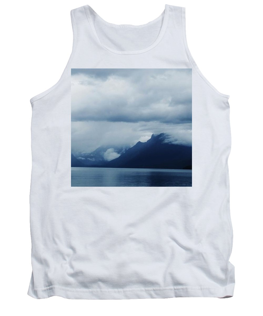 Landscape Tank Top featuring the photograph Mcdonald Lake Glacier by Fred Kamps