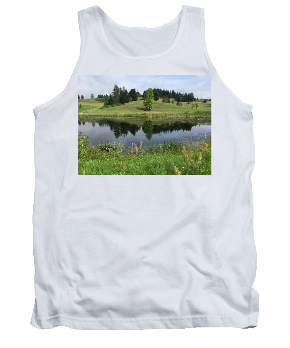 Tank Top featuring the photograph Meadow by ISABELLE Foley