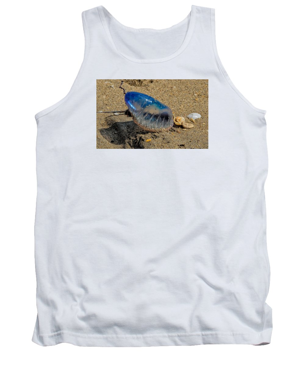 Animals Fauna Water Animals Tank Top featuring the photograph Medusa by LOsorio Photography