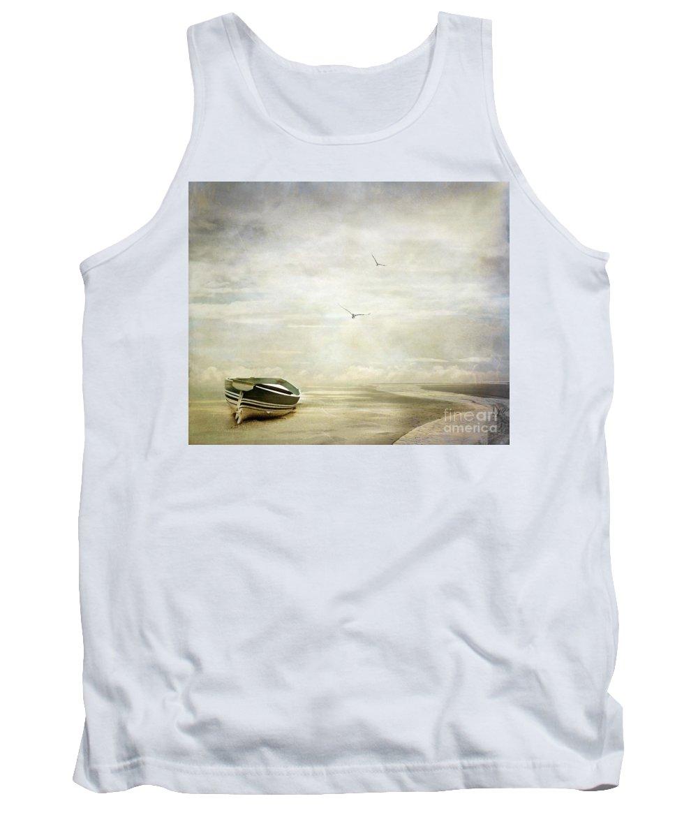 Beach Tank Top featuring the photograph Memories by Jacky Gerritsen