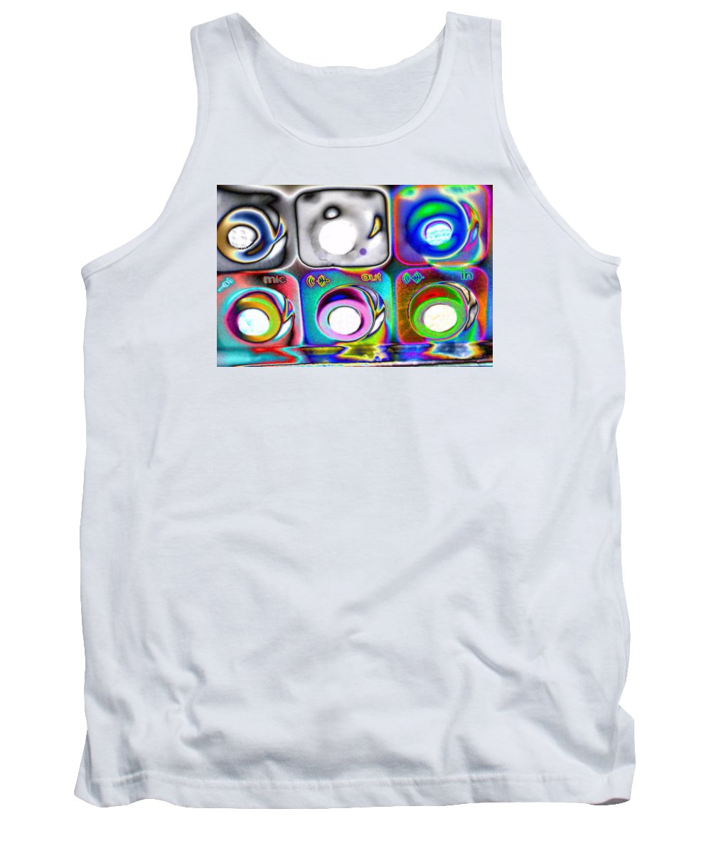 Landscape Tank Top featuring the photograph Mic Out In by Morgan Carter