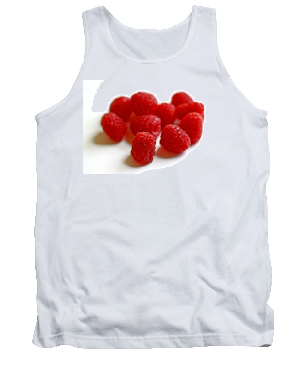Raspberry Tank Top featuring the photograph Mingling by Evelina Kremsdorf