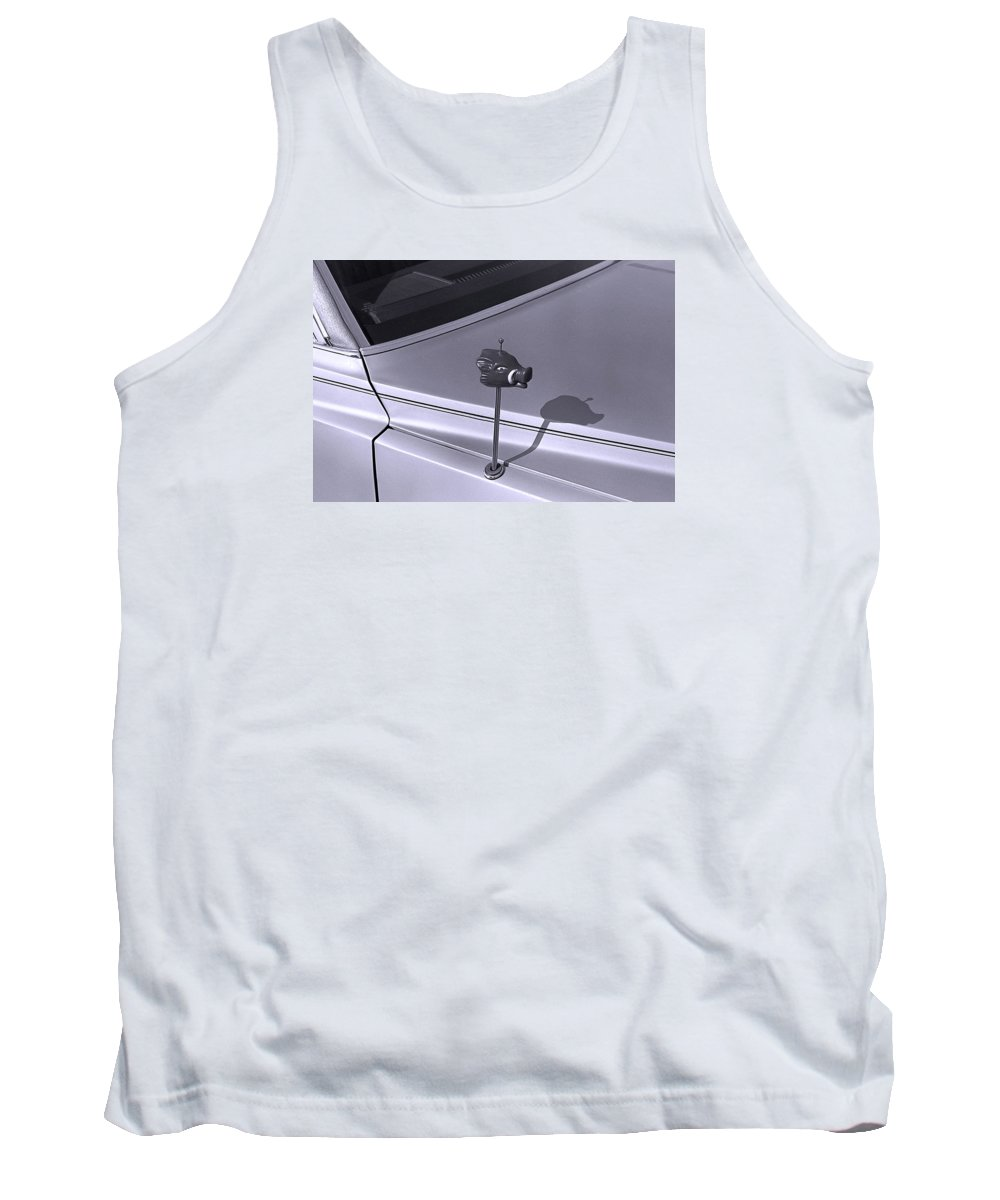 Primitive Tank Top featuring the photograph Modern Primitive by Ted M Tubbs