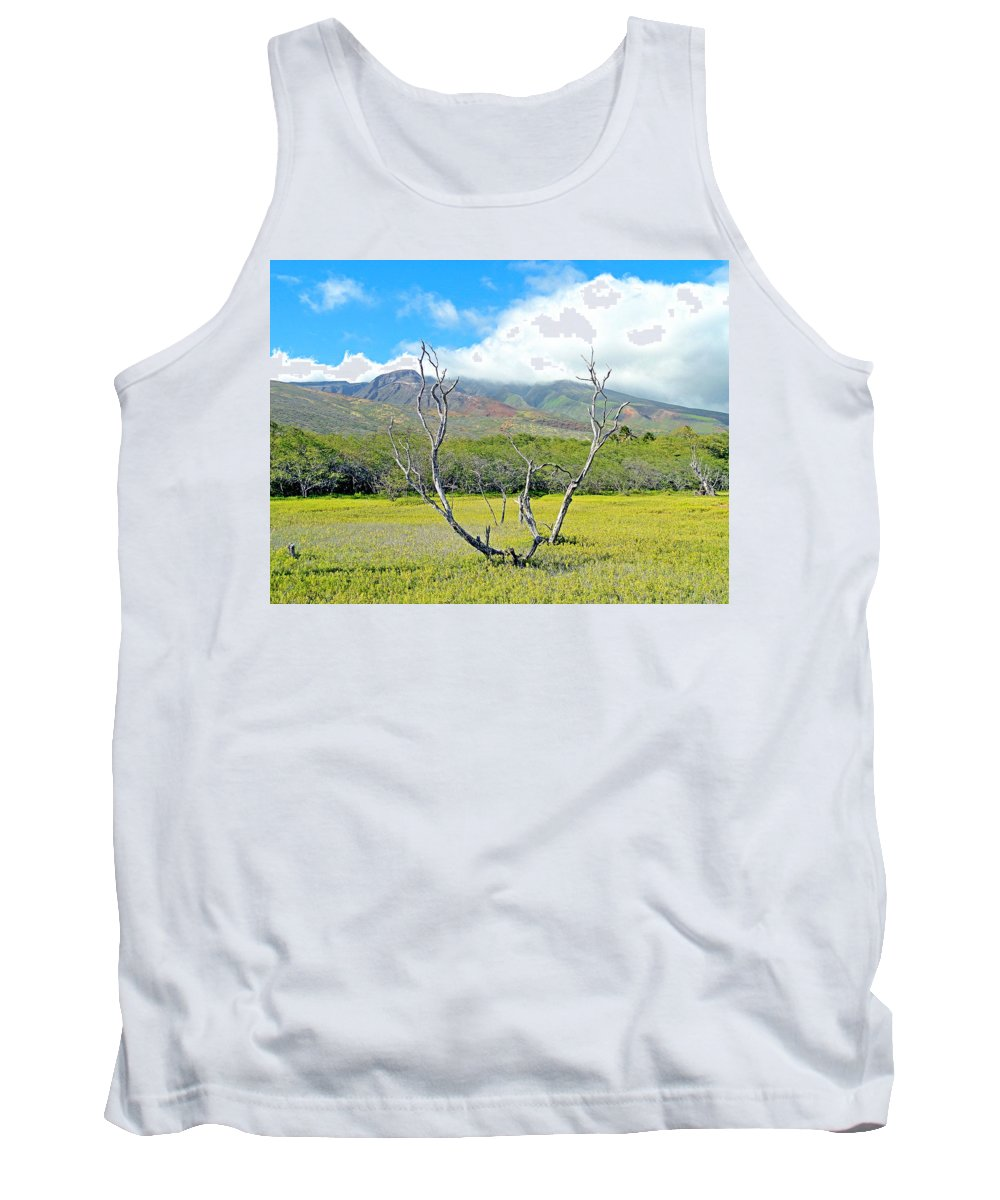 Molokai Tank Top featuring the photograph Molokai Surrealism by Robert Meyers-Lussier