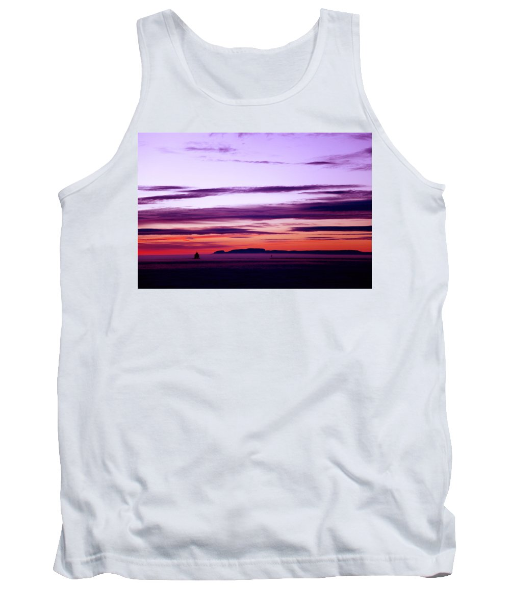 Tank Top featuring the photograph Moments Before Sunrise by Chris Artist