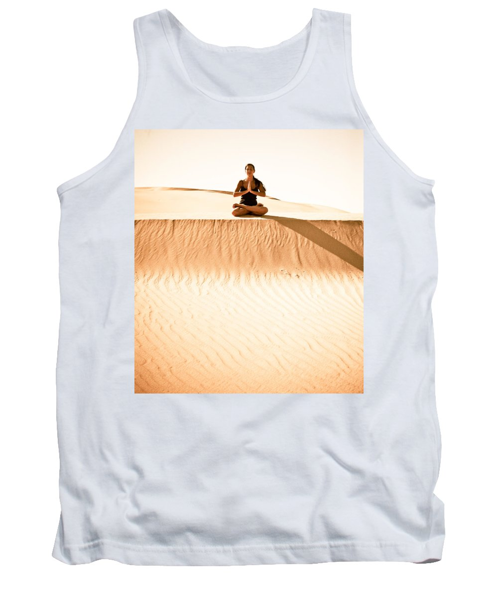 Yoga Tank Top featuring the photograph Morning Meditation by Scott Sawyer