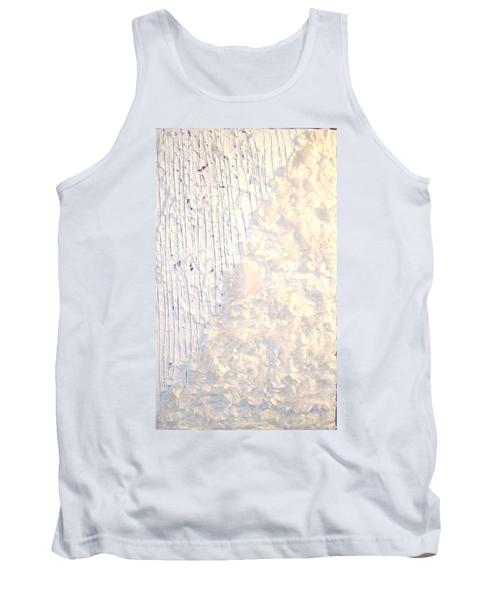 Moveonart! Digital Gallery Tank Top featuring the painting Moveonart Brush Of An Angels Wing 1 by Jacob Kanduch