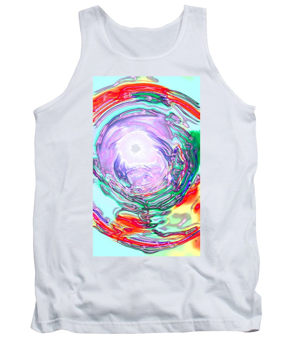 Moveonart! Digital Gallery Tank Top featuring the digital art Moveonart Finding True Purpose by Jacob Kanduch