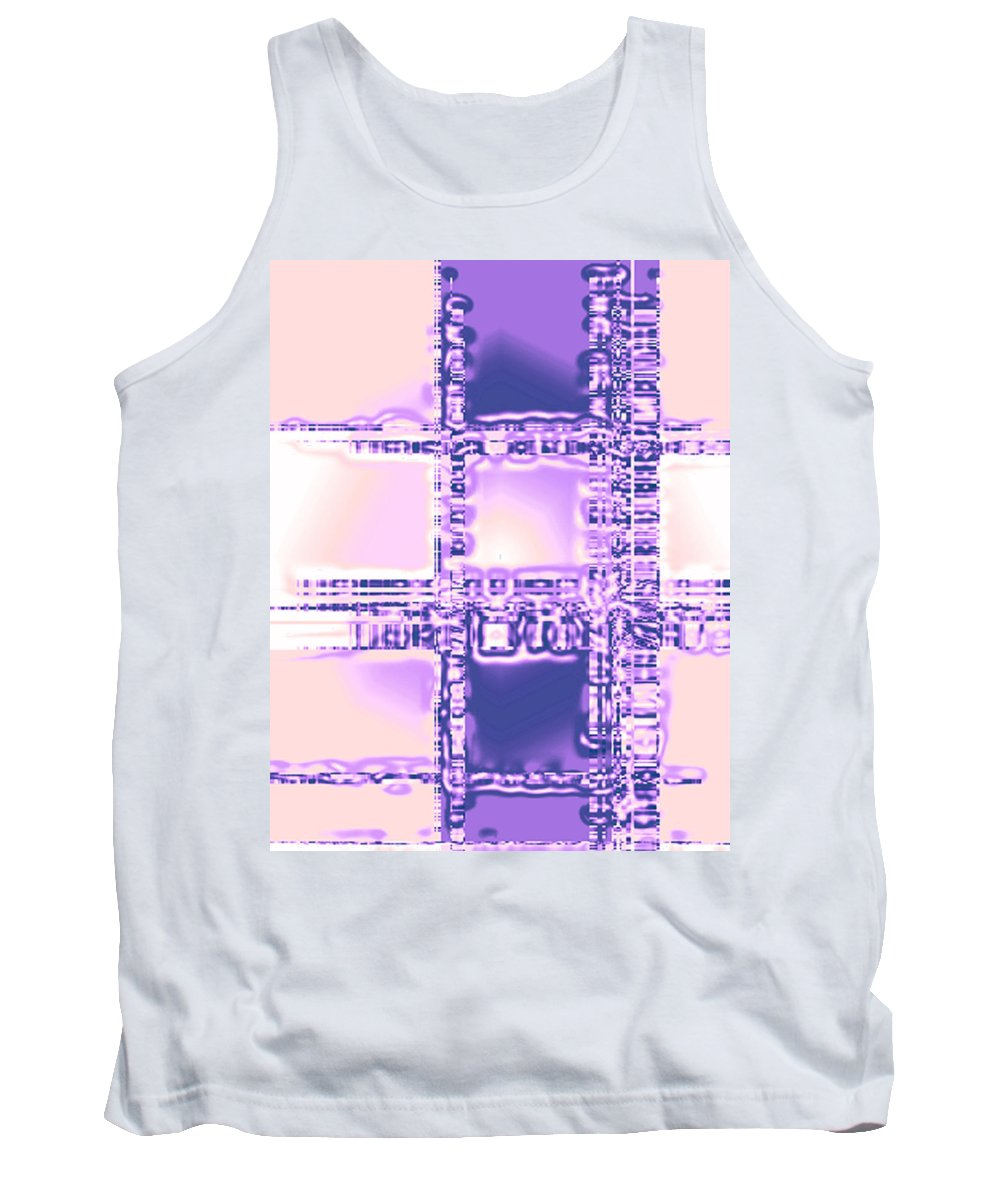 Moveonart! Digital Gallery Tank Top featuring the digital art Moveonart Plan To Be A City Man by Jacob Kanduch