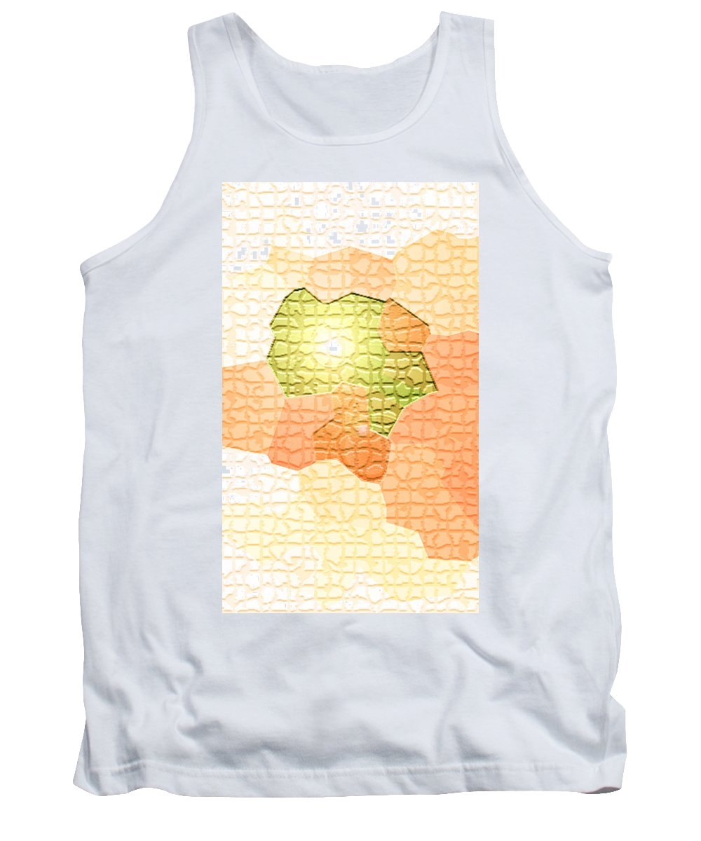 Moveonart! Digital Gallery Tank Top featuring the digital art Moveonart Youre Gonna Be Alright by Jacob Kanduch