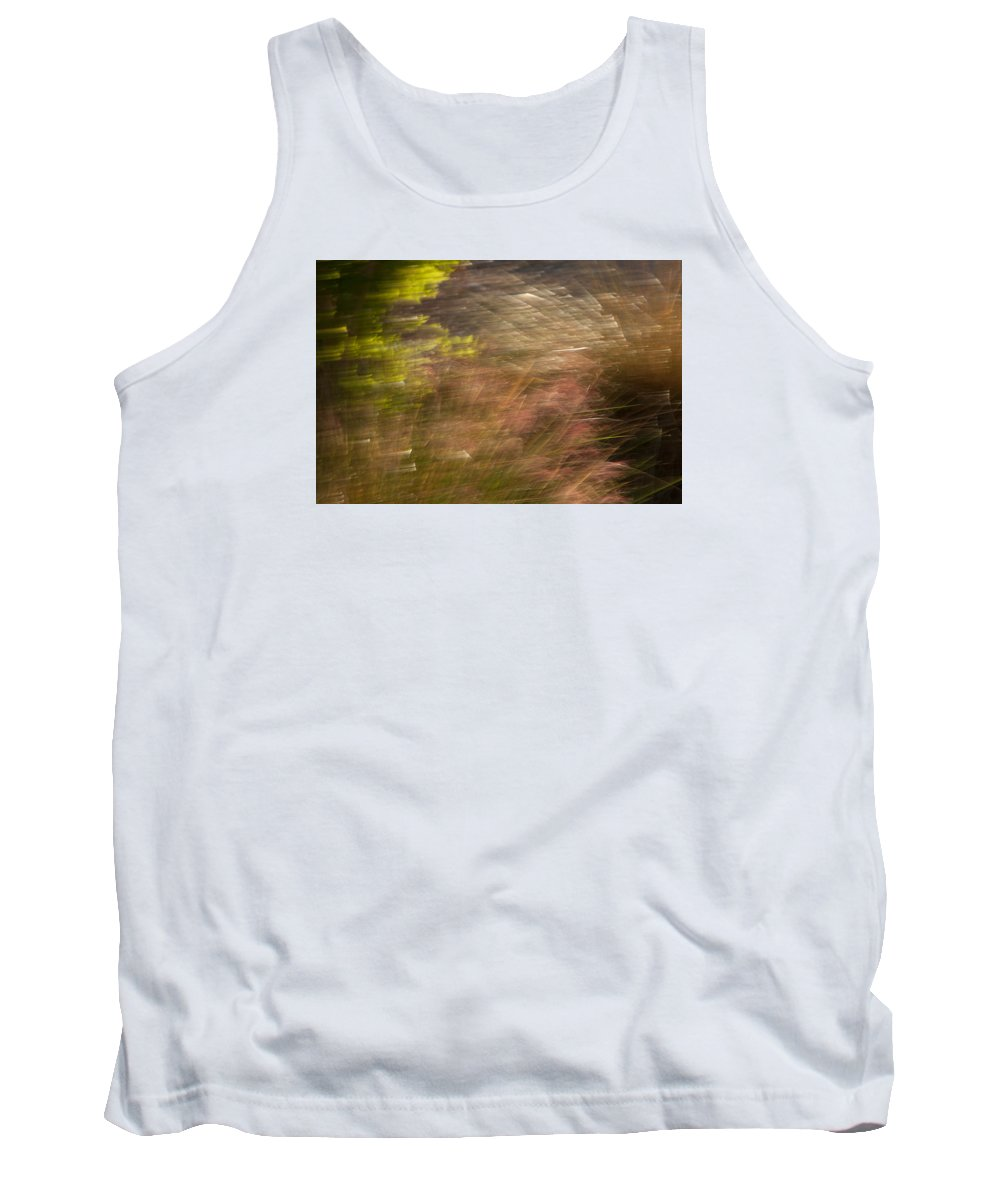 Background Tank Top featuring the photograph Moving In The Wind by Dennis Eckel