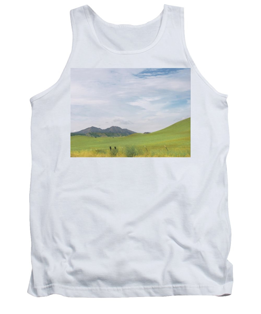 Landscape Tank Top featuring the photograph Mt. Diablo Mcr 1 by Karen W Meyer