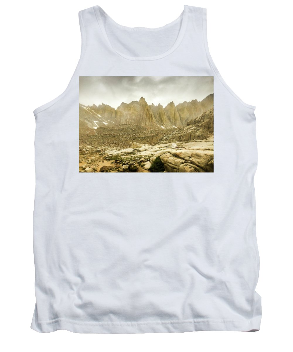 Landscape Tank Top featuring the photograph Mt Whitney Sierra Basecamp by Tyler Krol