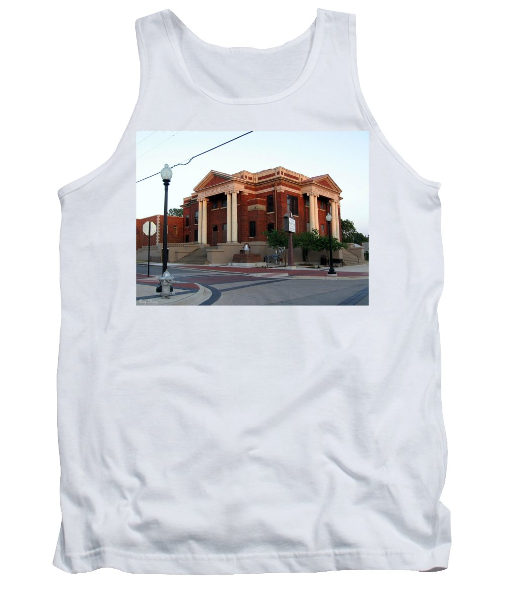 Mt Zion Baptist Church Tank Top featuring the photograph Mt Zion Baptist Church by Amy Hosp