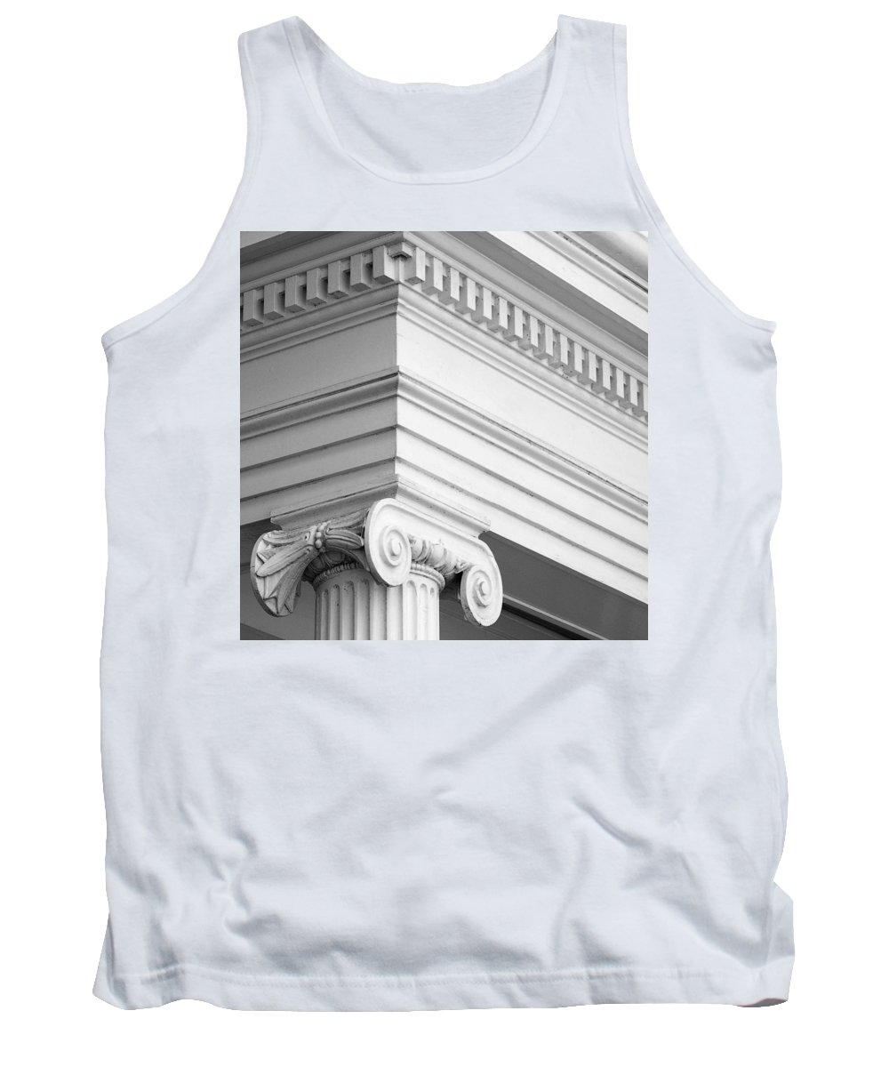 Nantucket Tank Top featuring the photograph Nantucket Architecture by Charles Harden