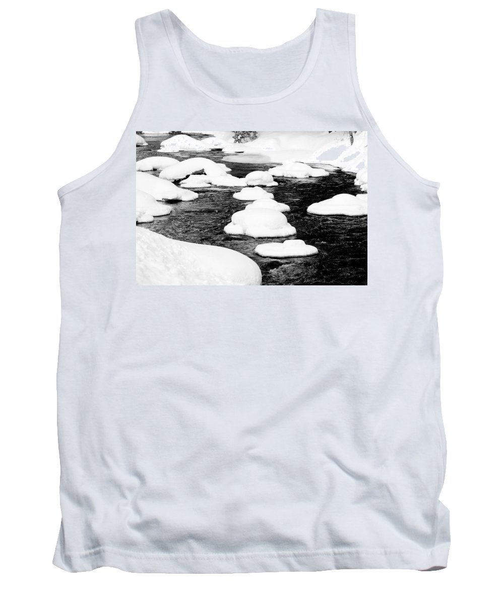 Goffstown Tank Top featuring the photograph Nature's Ice Cream by Greg Fortier