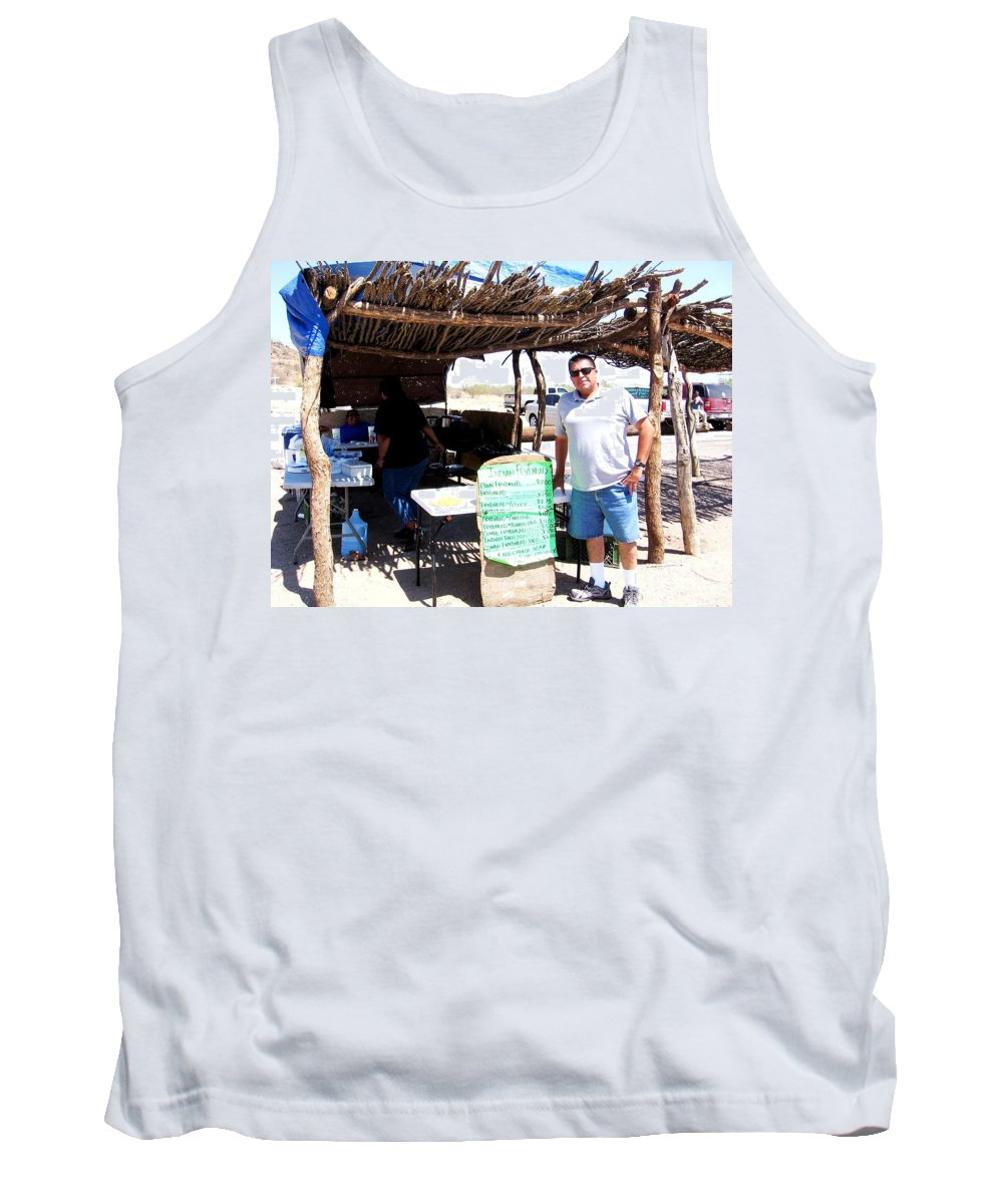 Tucson Tank Top featuring the photograph Navajo Tacos by Michelle Dallocchio