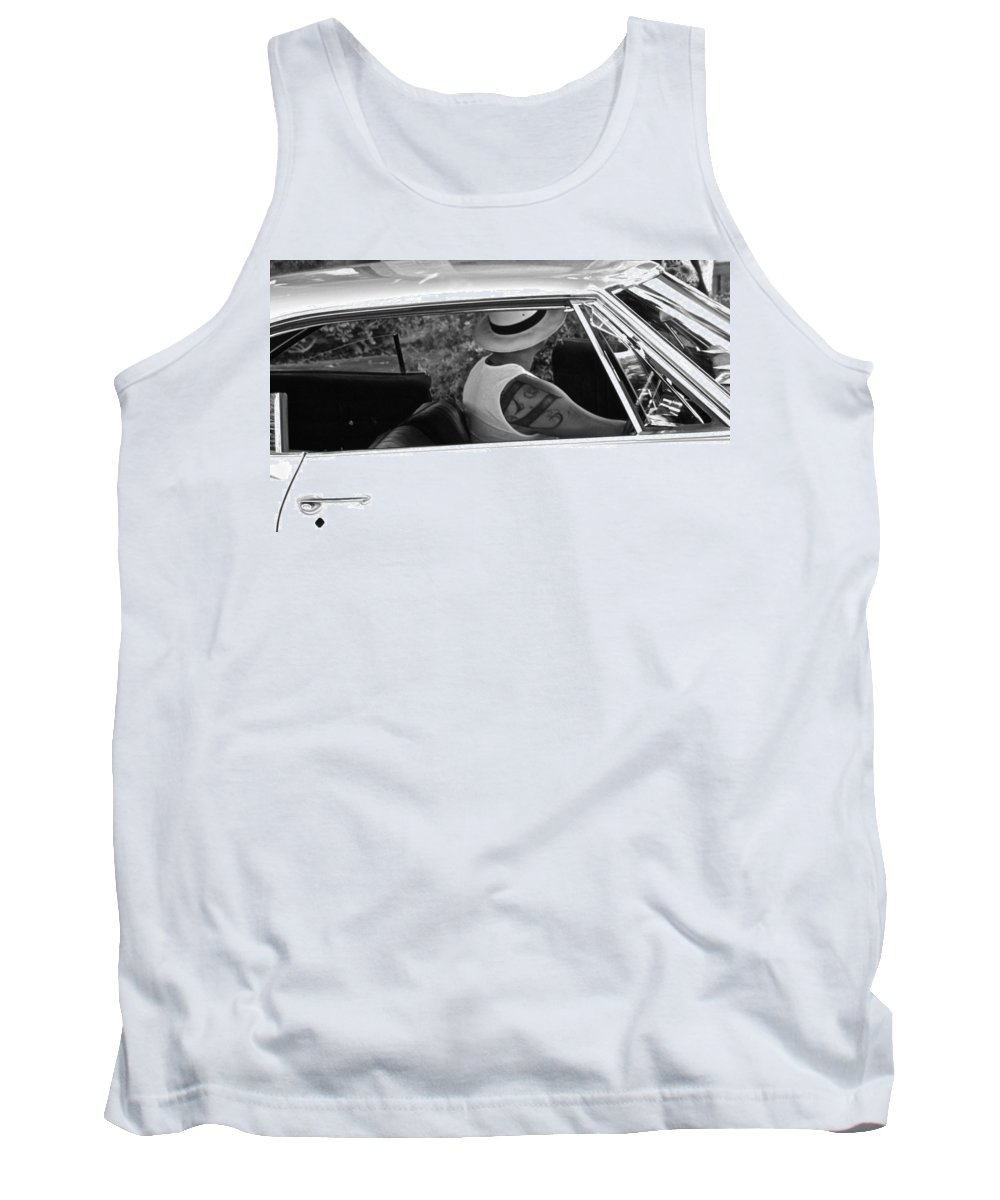 Photograph Tank Top featuring the photograph Need A Ride by Gwyn Newcombe