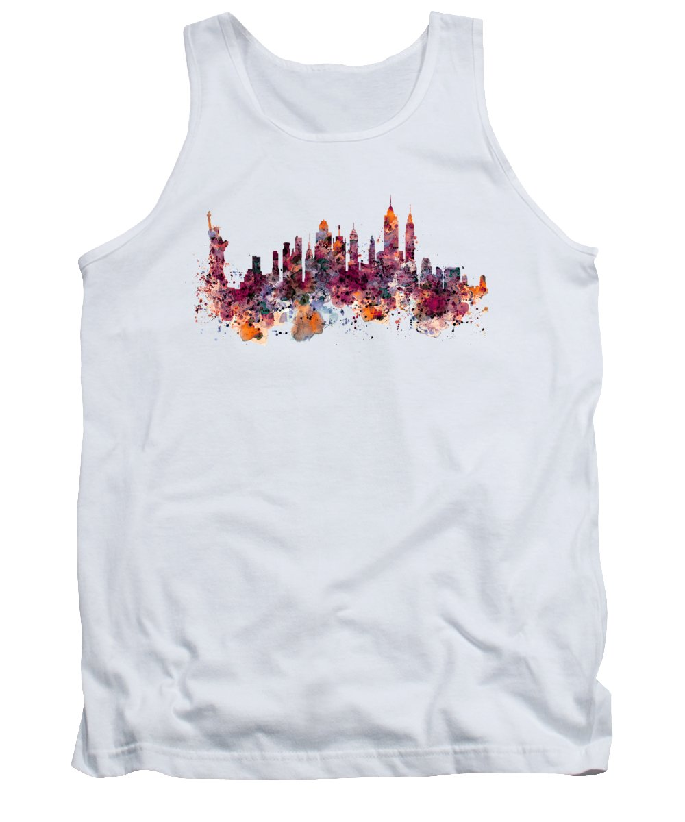 Statue Of Liberty Tank Tops