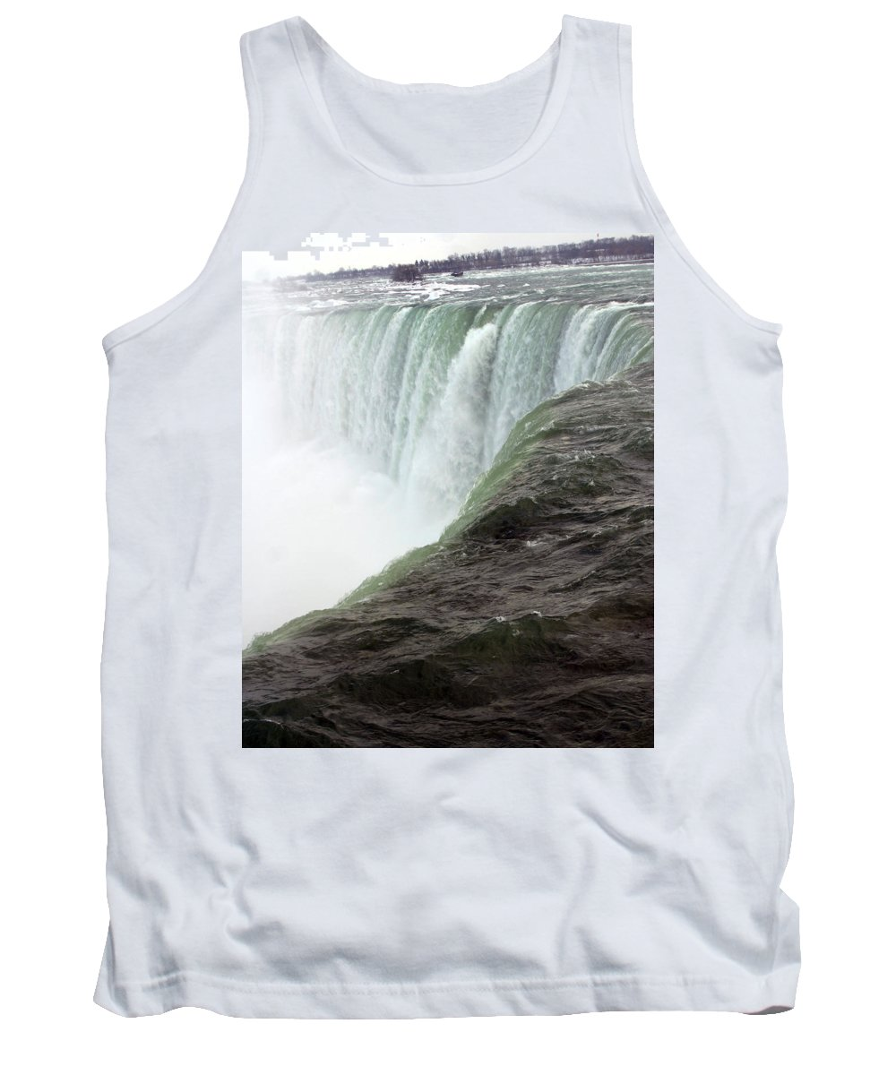 Niagara Falls Tank Top featuring the photograph Niagara Falls 1 by Anthony Jones