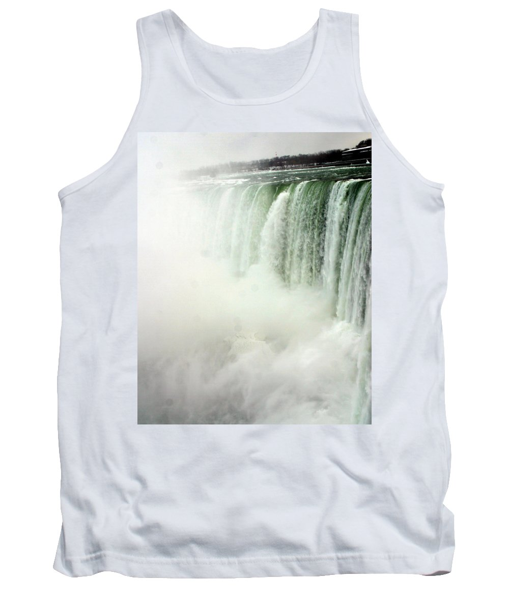 Landscape Tank Top featuring the photograph Niagara Falls 4 by Anthony Jones
