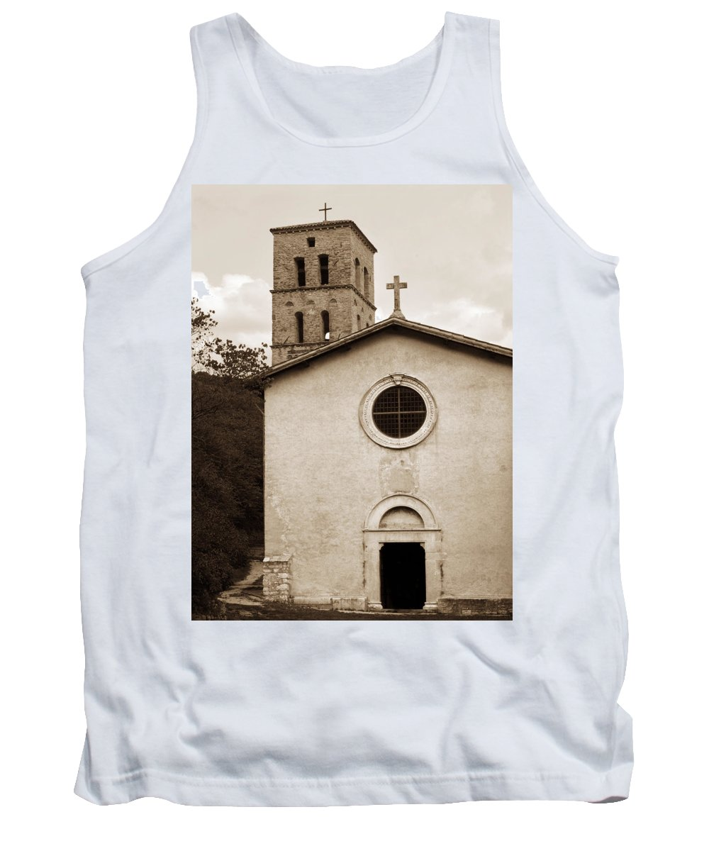 Curch Tank Top featuring the photograph Nice Old Church For Wedding by Marilyn Hunt
