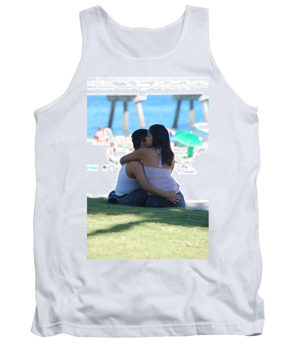 People Tank Top featuring the photograph Not Married by Rob Hans
