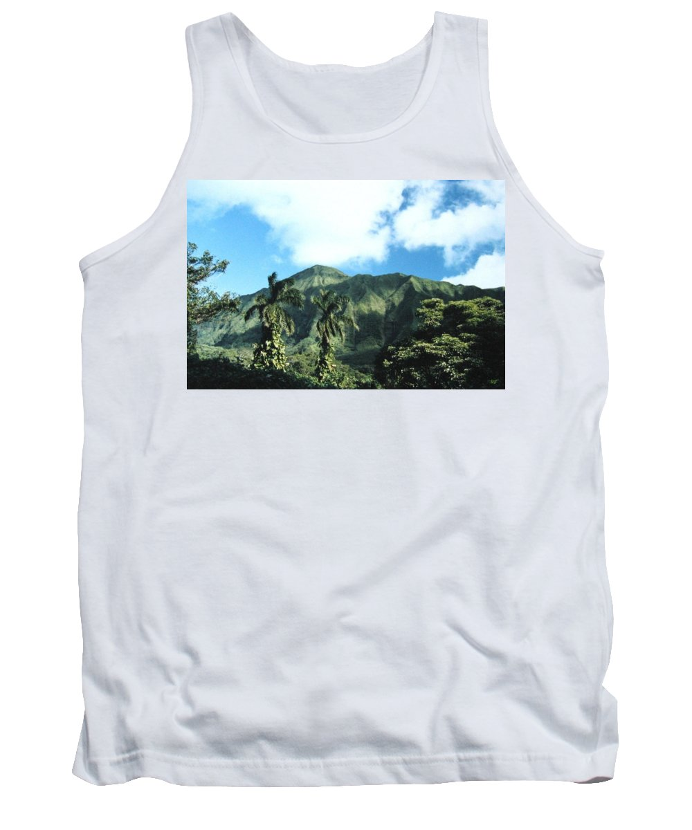 1986 Tank Top featuring the photograph Nuuanu Pali by Will Borden