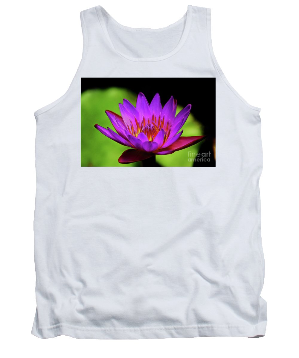 Nymphaeaceae Tank Top featuring the photograph Nymphaeaceae by Patti Whitten