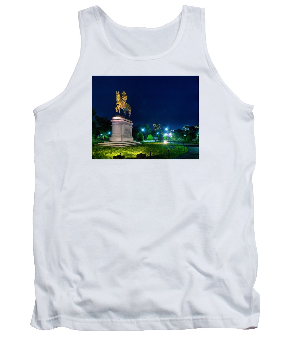 Boston Tank Top featuring the photograph Old George 6358 by Jeff Stallard