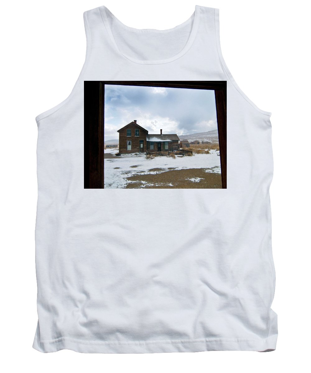 California Tank Top featuring the photograph Old House by Norman Andrus