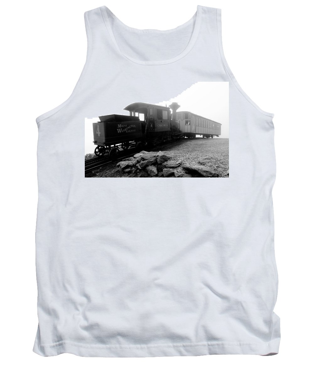 Train Tank Top featuring the photograph Old Locomotive by Sebastian Musial