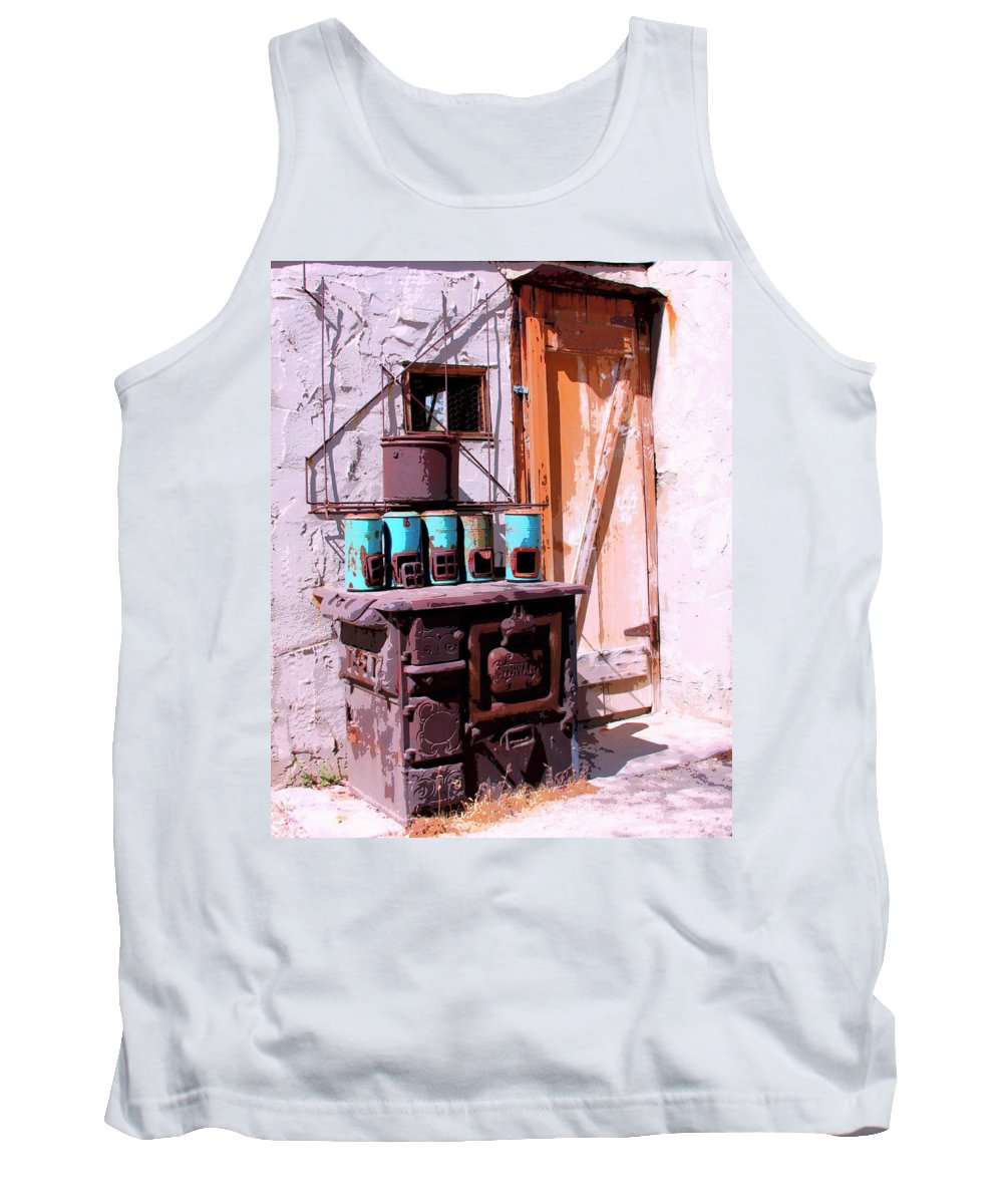 Cabot Tank Top featuring the photograph Old Soldier by William Dey