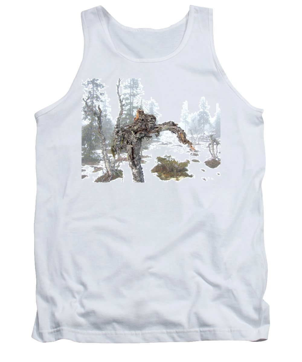 Tree Tank Top featuring the photograph Old Tree by Are Lund