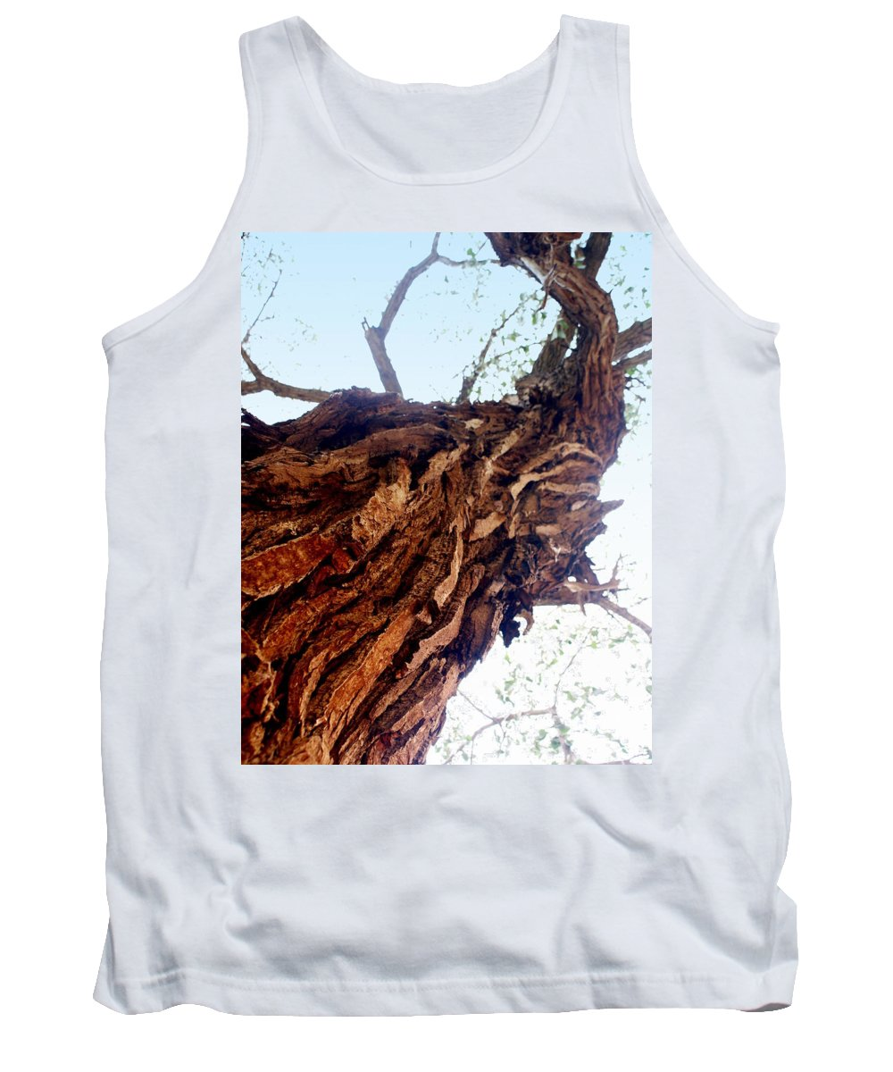 Tree Tank Top featuring the photograph Old Tree by Marty Koch