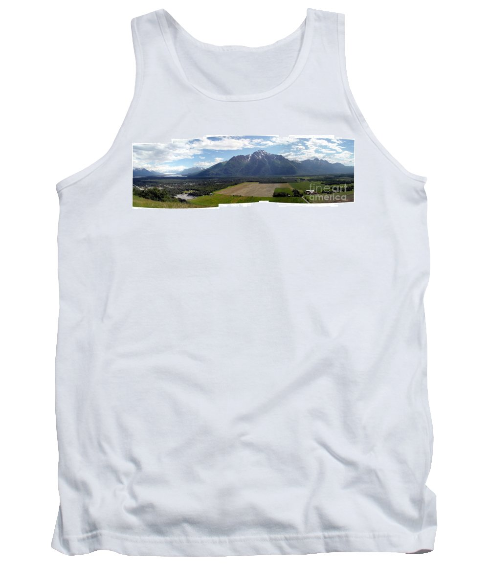 Landscape Tank Top featuring the photograph On A Butteiful Day by Ron Bissett