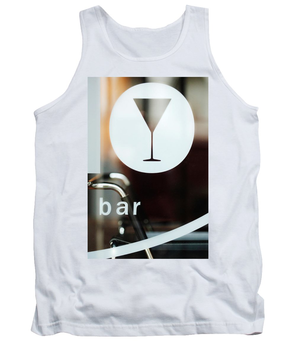 Bar Tank Top featuring the photograph Open Bar by Jill Reger