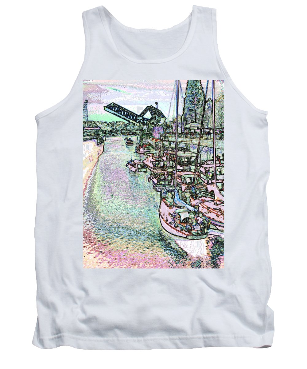 Seattle Tank Top featuring the photograph Opening Day Of Boating by Tim Allen