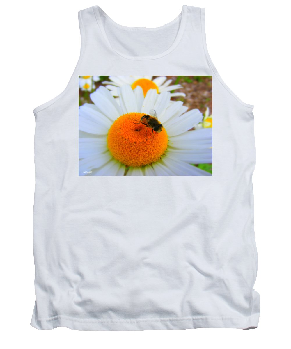 Orange Aid Tank Top featuring the photograph Orange Aid by Ed Smith