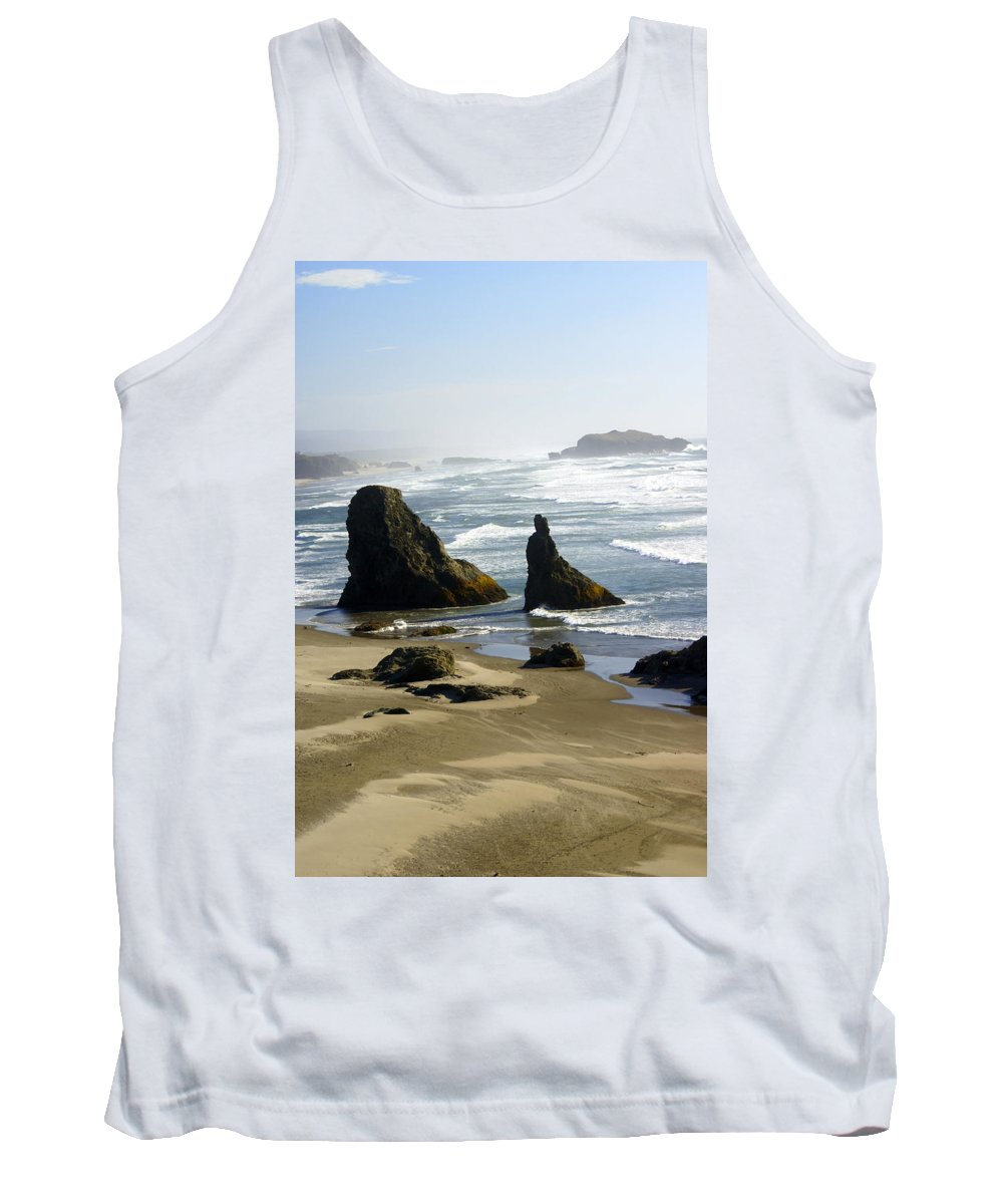 Ocean Tank Top featuring the photograph Oregon Coast 19 by Marty Koch
