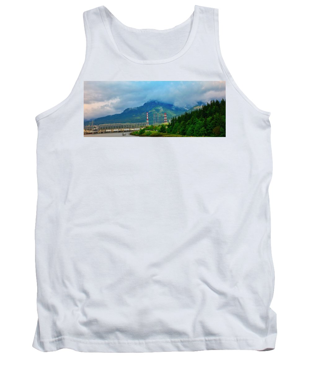Oregon Tank Top featuring the photograph Oregon Columbia River - River View by Image Takers Photography LLC - Carol Haddon and Laura Morgan