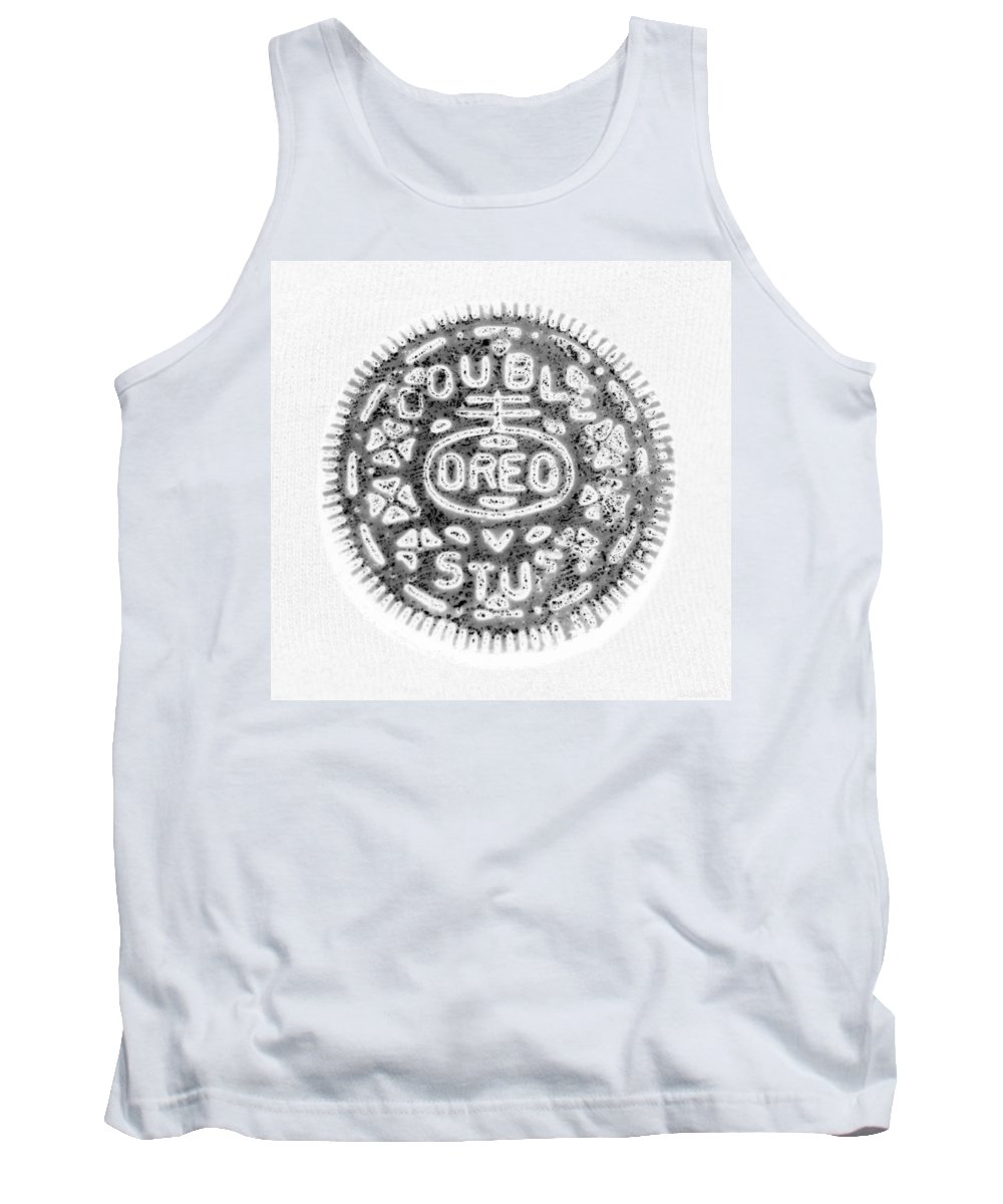 Oreo Tank Top featuring the photograph Oreo In Negetive by Rob Hans