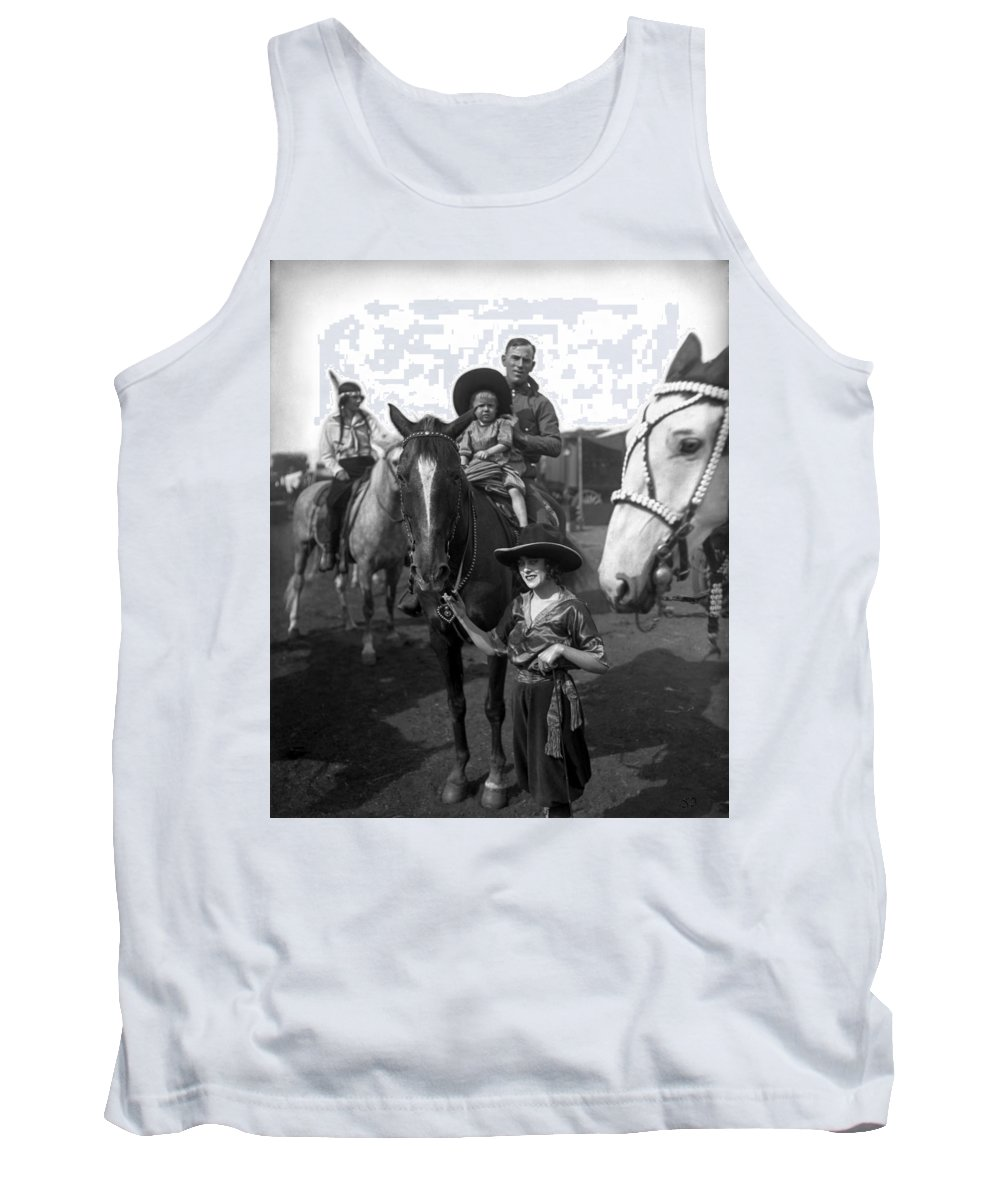 Photobomb Tank Top featuring the photograph Original Photobomber by Harry Atwell