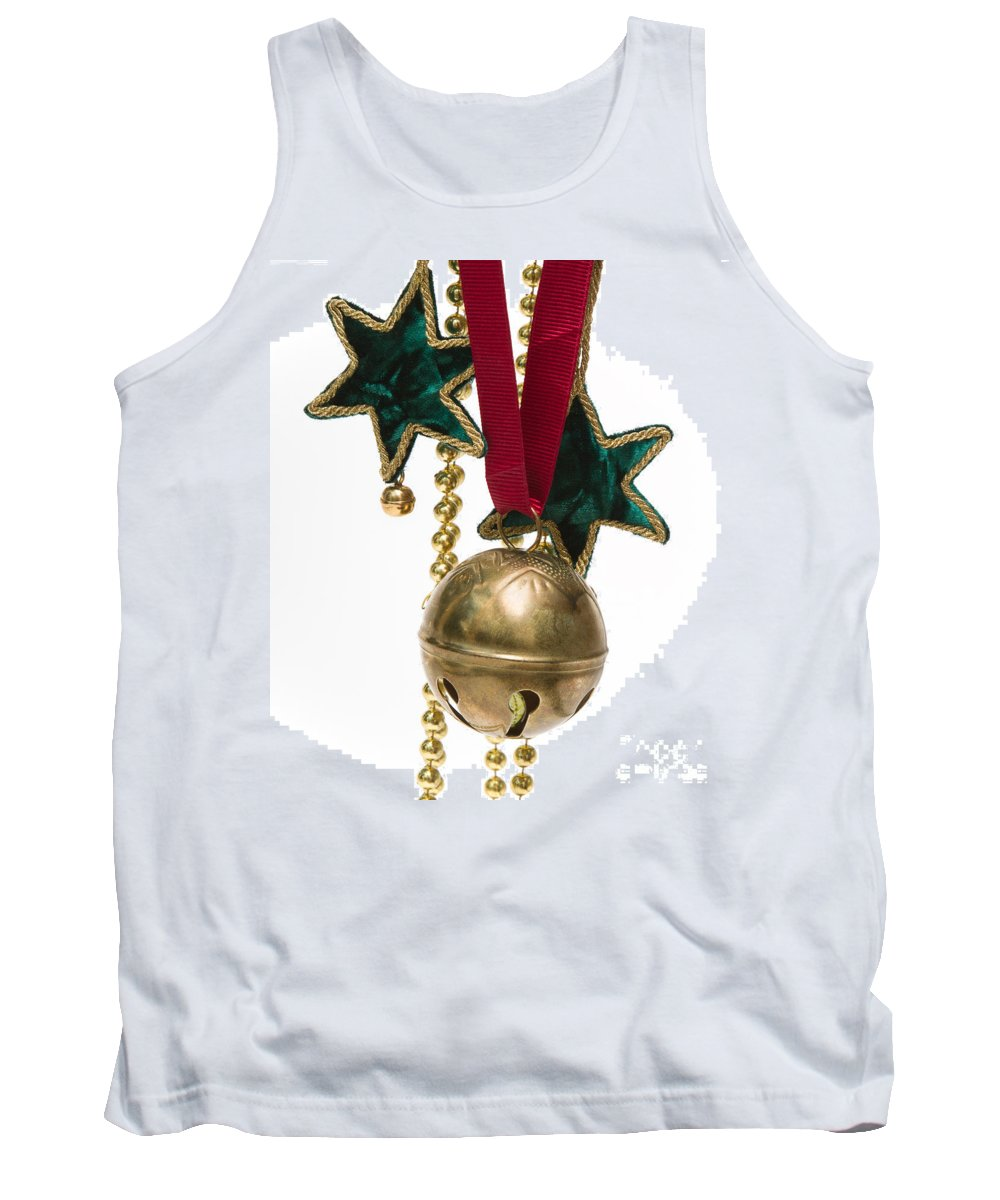 Christmas Tank Top featuring the photograph Ornaments by Louise Heusinkveld